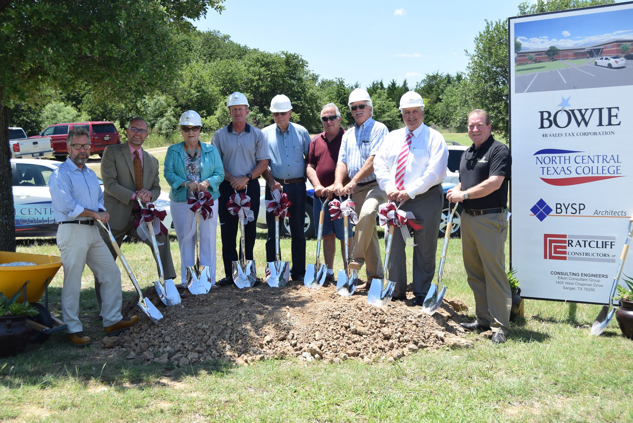 4B Board groundbreaking ITC